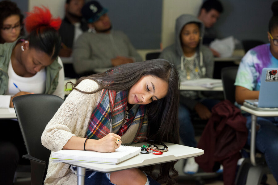 What's made rates of degree attainment for immigrant students spike?