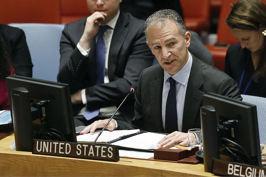 Measures Are Taken To Get Tehran Back To Negotiating - U.S.