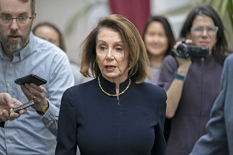 Trial by fire? Pelosi proves she's still in the game