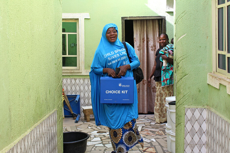 Not your typical door-to-door sales: the family-planning ladies of Nigeria