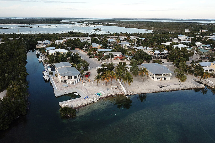 Whose Key West? Climate change is driving up the price of paradise.