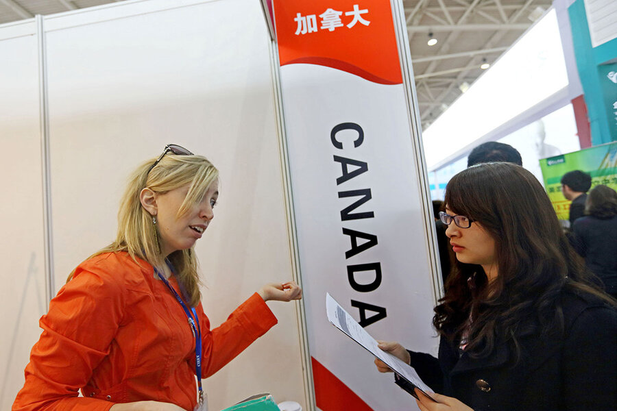 Go north, young grad. How Canada is winning over international students.