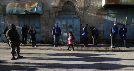In Hebron, Palestinians patrol after foreign monitors leave