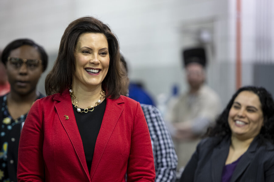 michigan governor whitmer halts immigrant detention plan csmonitor com michigan governor whitmer halts