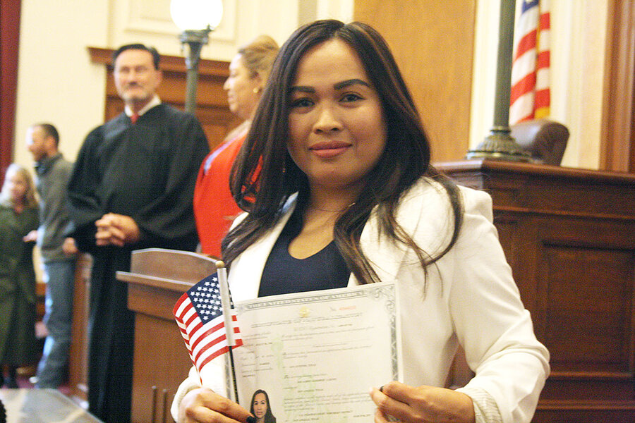 A big player in becoming a US citizen? Your ZIP code  - CSMonitor com