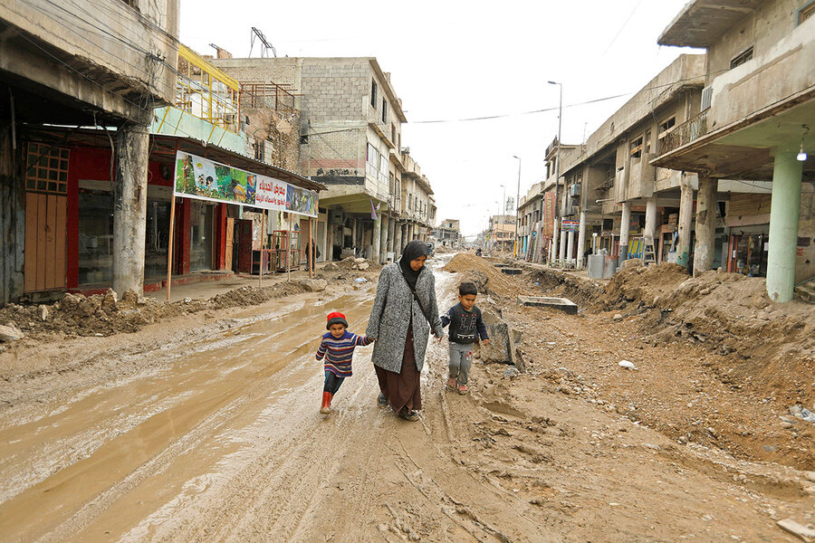 In Mosul's enduring rubble, fertile soil for an ISIS revival?