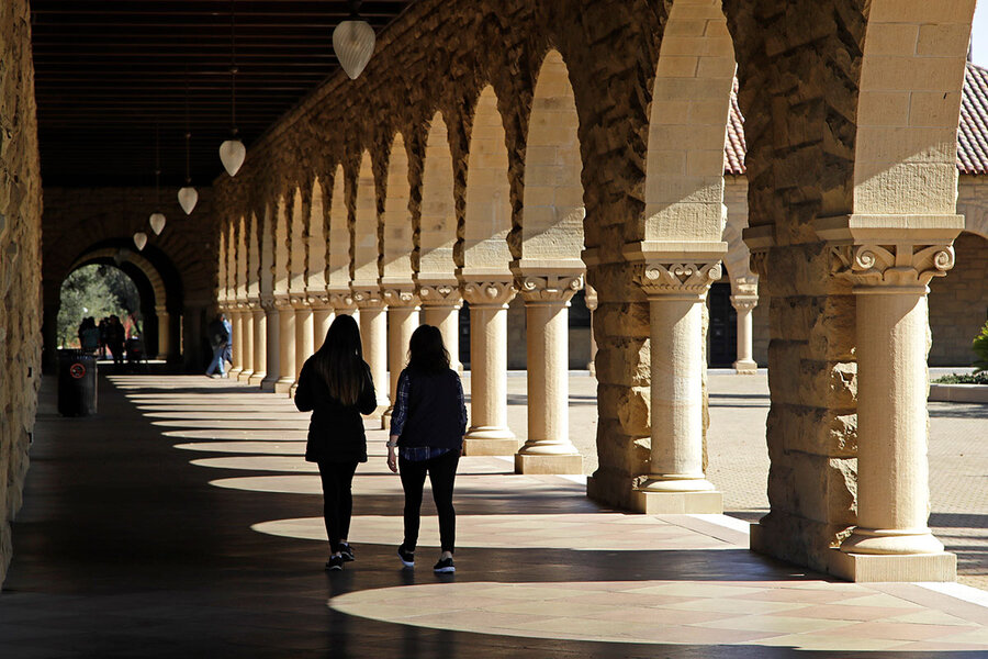 America to elite colleges: Shape up (but please let us in).