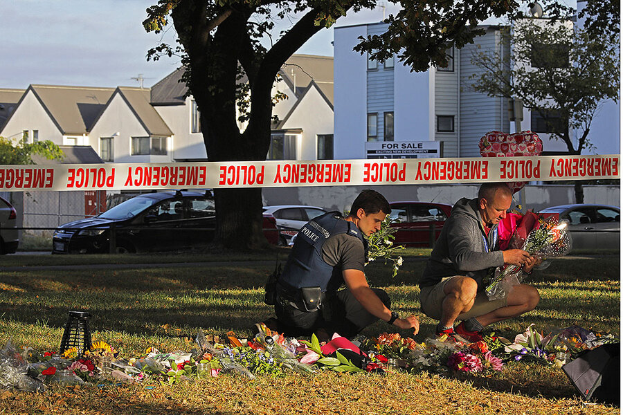 After New Zealand terror, the faithful grapple with big question: Why?