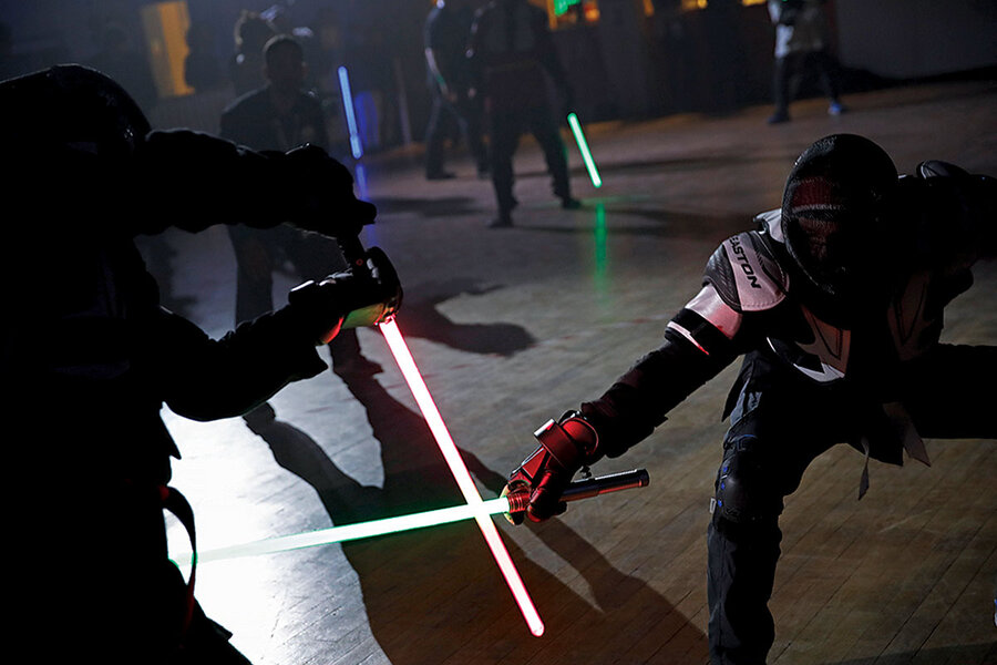 Meanwhile in … France, lightsaber dueling is now a recognized sport.