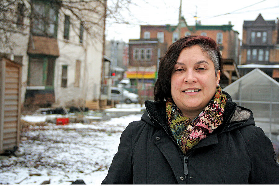 Her gift to neighbors: green space that's both refuge and food source