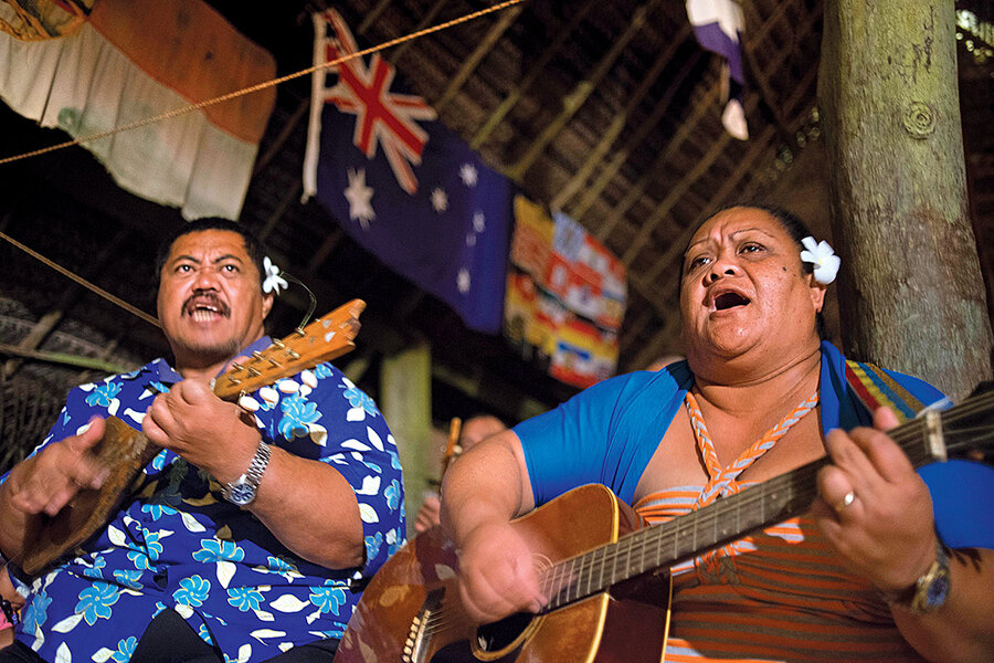 Meanwhile in … the Cook Islands, the country is thinking about a name change.