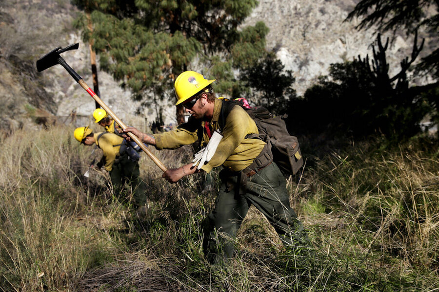 California calls National Guard from border for forestry help