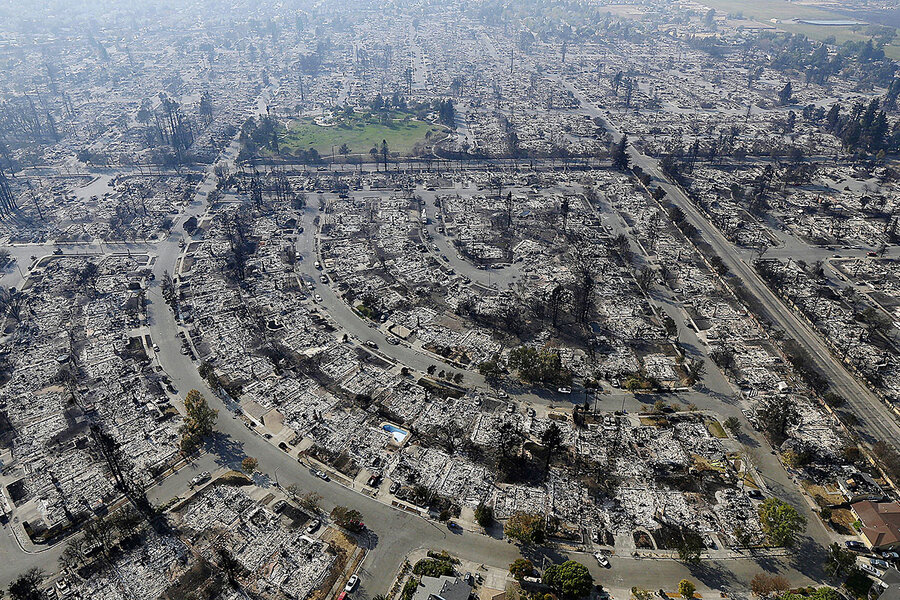 After California wildfires, what survivors say they gained from loss