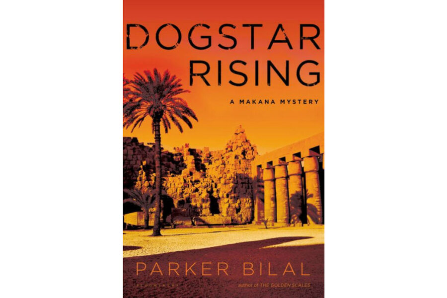 What are some good mystery books from Egypt and Iran?