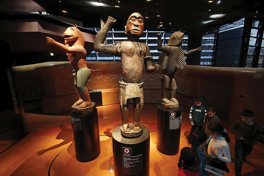 Art of the steal: European museums wrestle with returning African art
