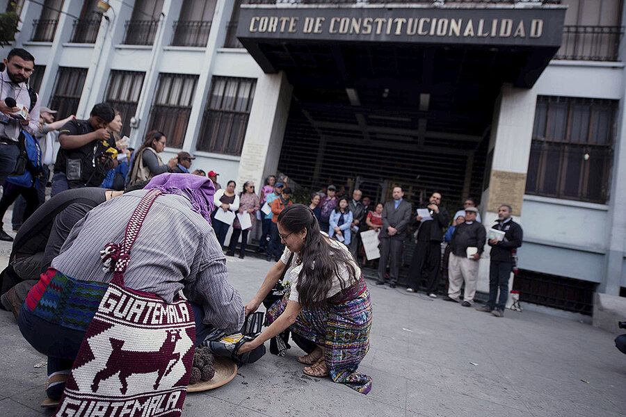 Ahead of elections, Guatemala's strides and setbacks in justice