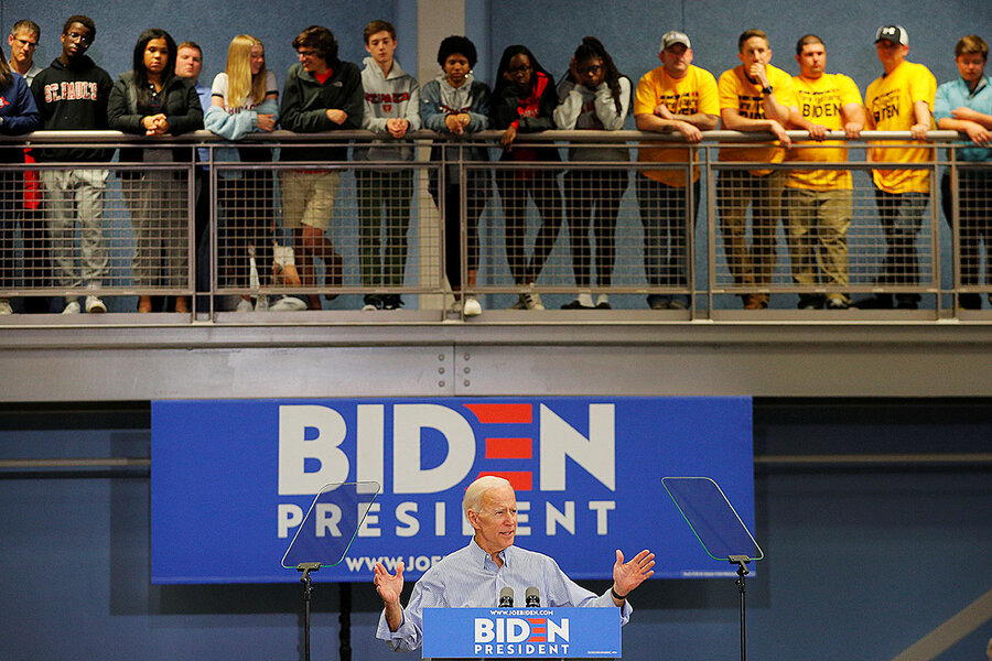 With 'kindness not brutality,' Joe Biden woos Obama Democrats