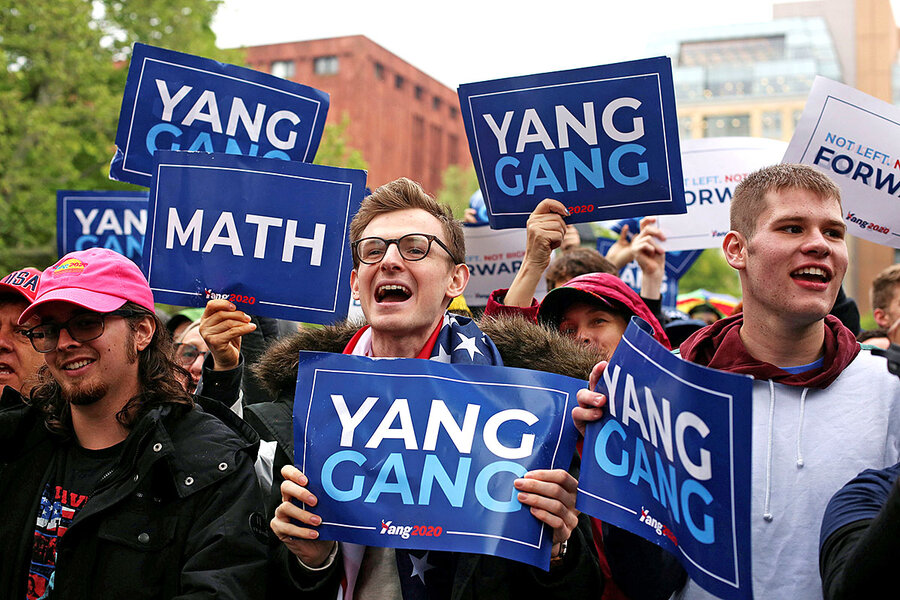 Why Andrew Yang will give you $1,000 a month if he's elected