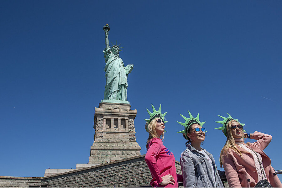 Statue Of Liberty At New Museum Visitors Can Explore Its