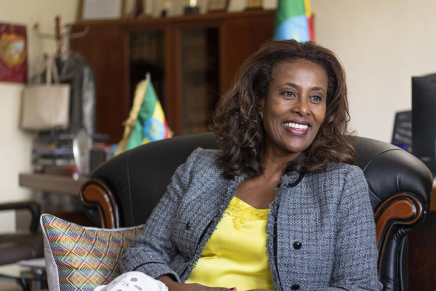 From women's rights activist to Supreme Court chief: meet Meaza Ashenafi