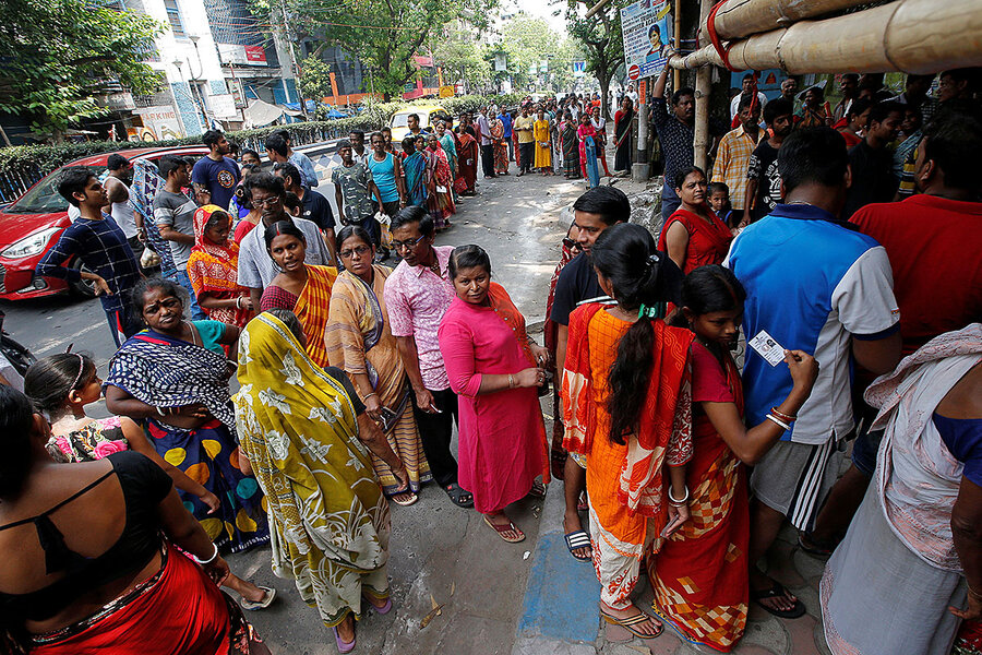 Letter from India: Lessons from an election with 900 million voters