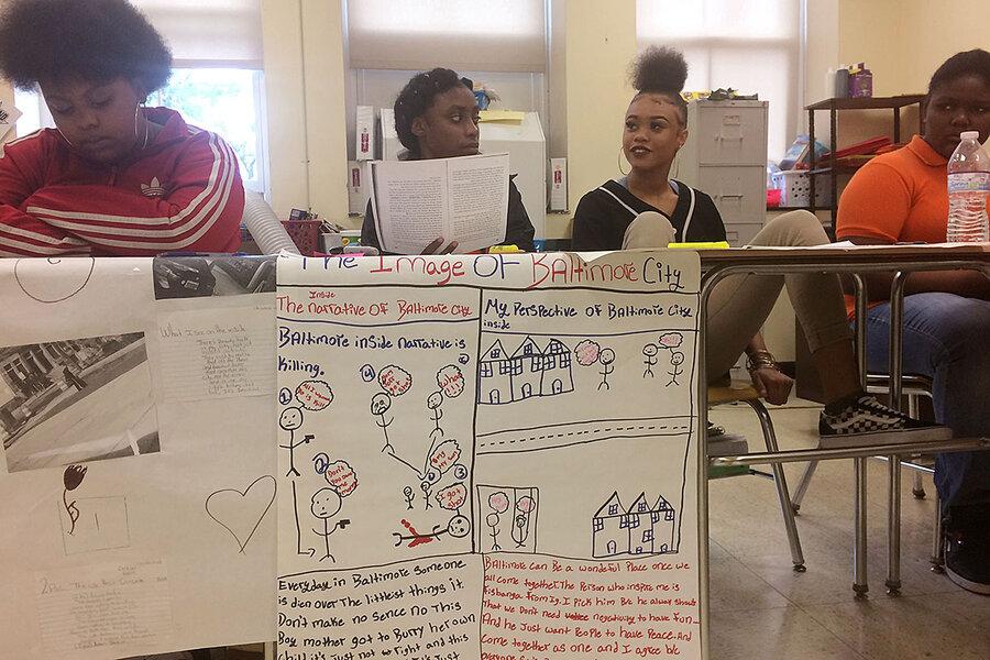 Reimagining Baltimore: Schools invite students to help
