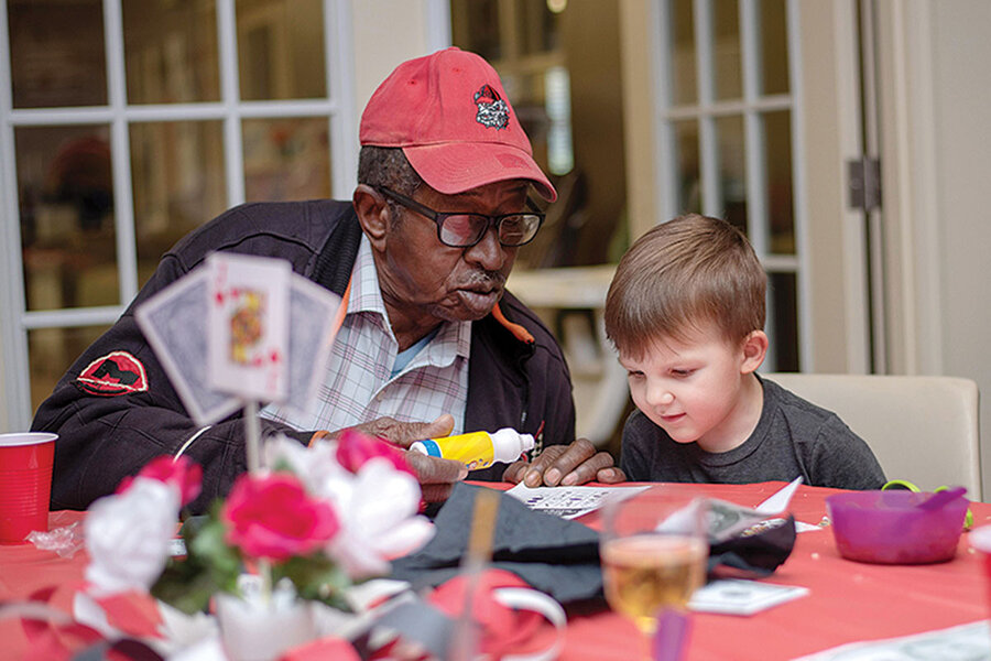 At a Georgia day care center, older neighbors find purpose, connection