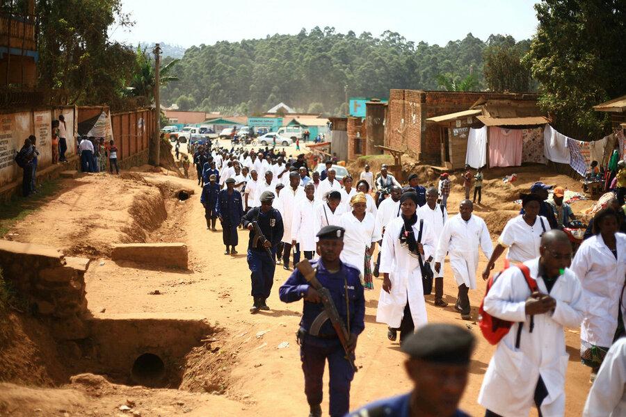 The calm for Congo's Ebola storm