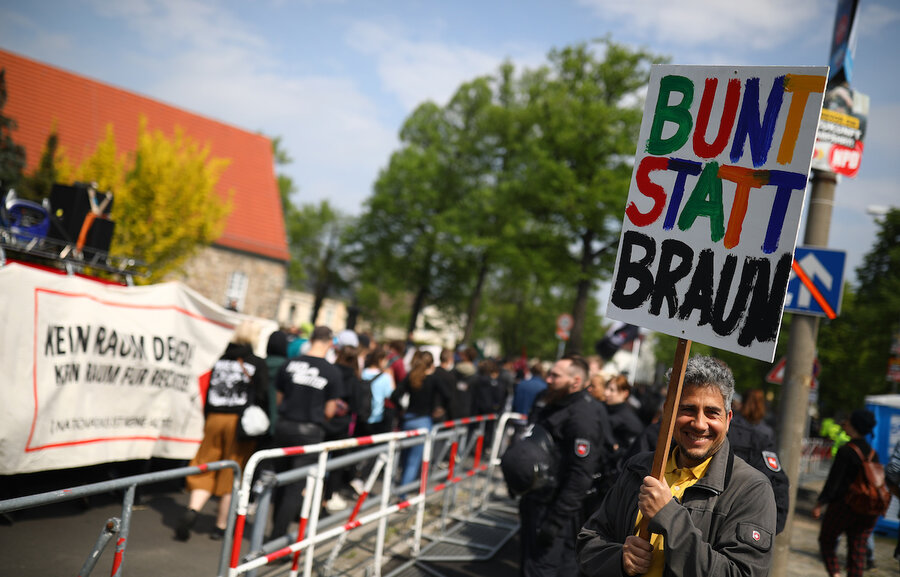Far-right EU candidates fan the flames of anti-immigration rhetoric