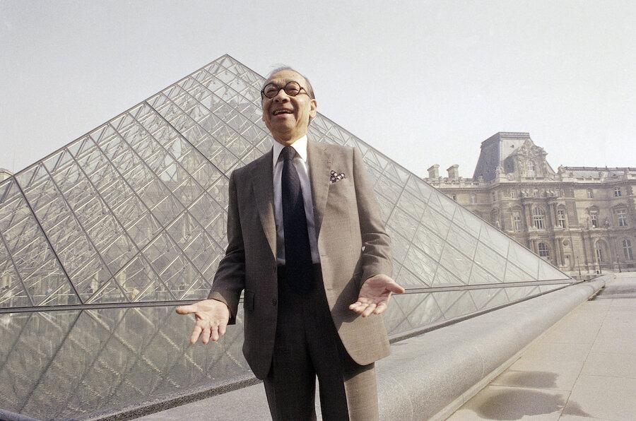 I.M. Pei, designer of Louvre Pyramid, leaves behind iconic landmarks