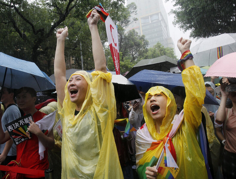 First in Asia, Taiwan approves full marriage rights for same-sex couples