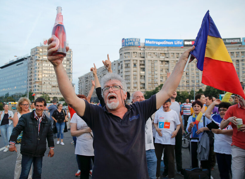 A coup against corruption in Romania