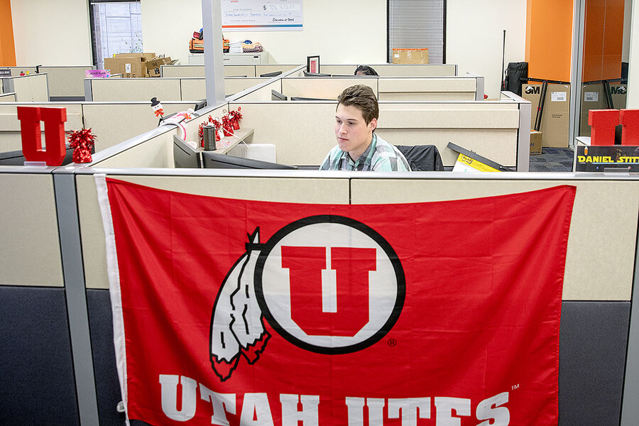 Corporate partnerships offer college students tuition – and a cubicle