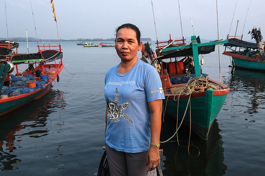 Cambodia's islands are under threat. This woman is trying to save them.