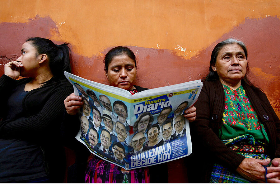 Guatemala election: What campaign chaos has to do with migration north