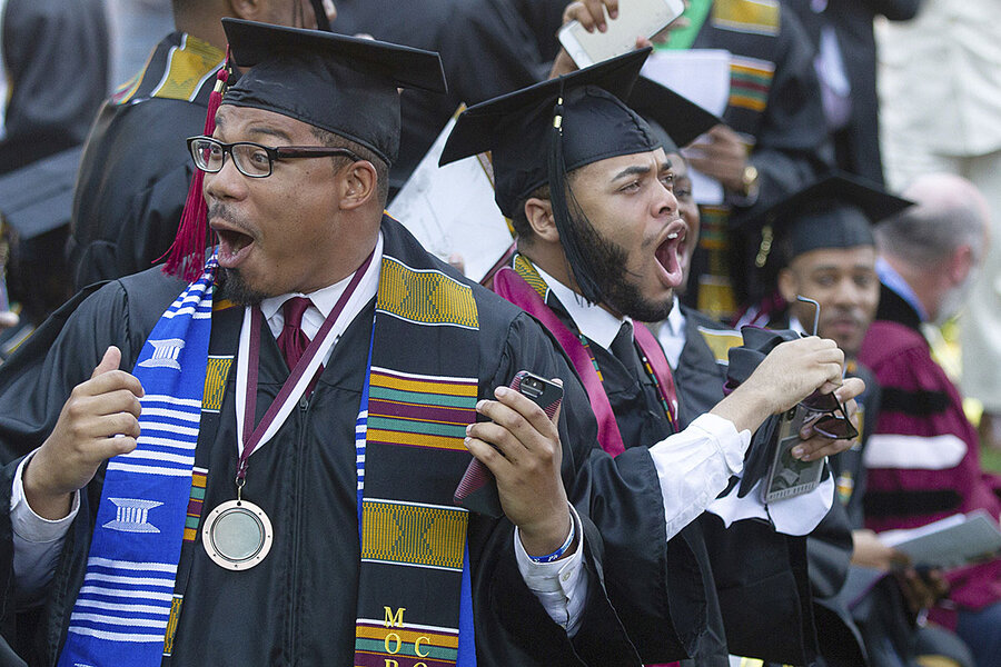 Brotherhood, debt, and the black college rising