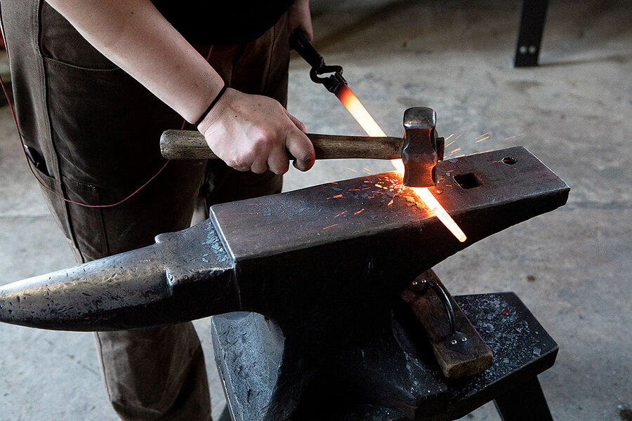How metalsmith revival is forging better future for a steel town