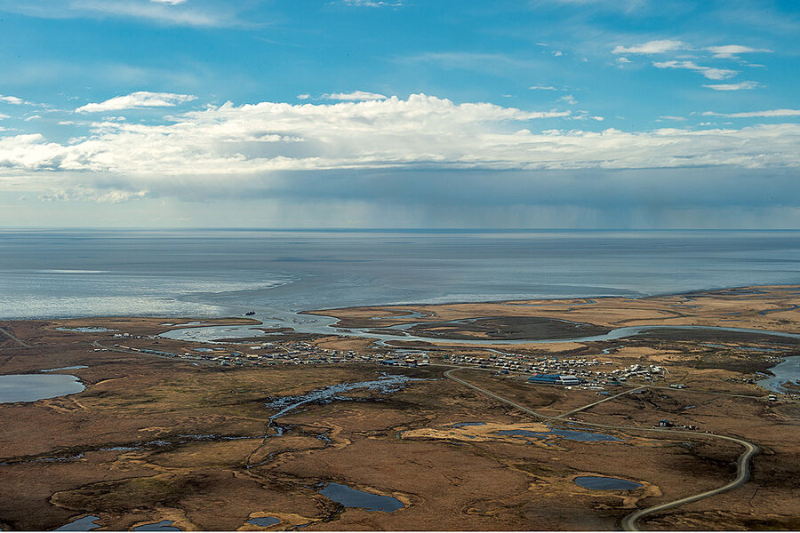 Climate change is threatening to erase Quinhagak, Alaska from the