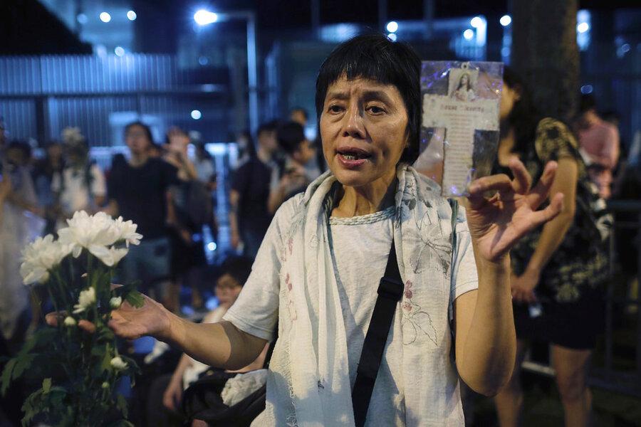 Hong Kong's quiet message to Beijing
