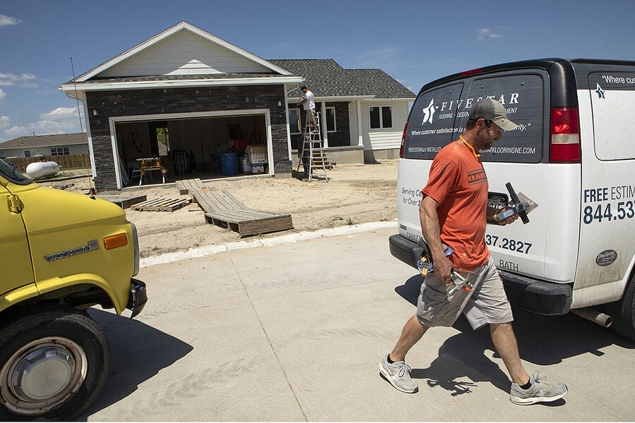 Rural America faces housing shortage. How one town is addressing it.