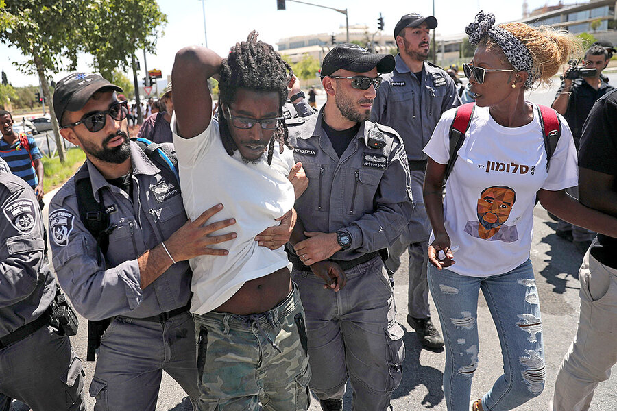 A police killing puts racism on the agenda. This time in Israel.
