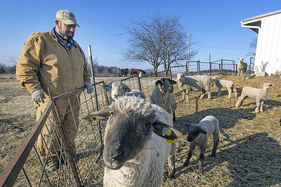 Amid tariffs and floods, a farmer finds hope in the next crop of Kansans