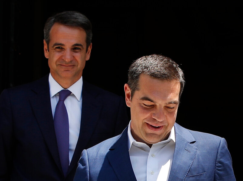 Humility wins in a Greek election
