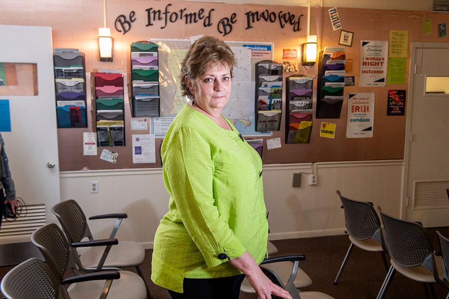 Hard choices, sweet tea: A day at a Louisiana abortion clinic