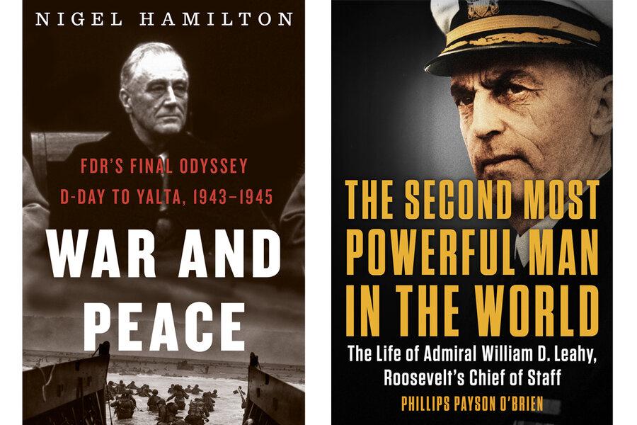 President Franklin Roosevelt's final task: ending World War II