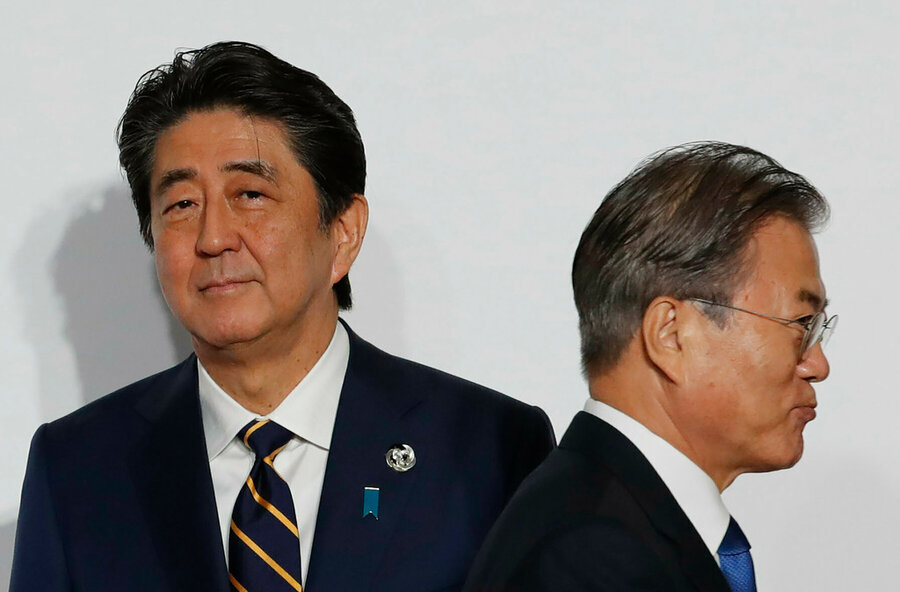 The harmony that belies Japan and South Korea strife