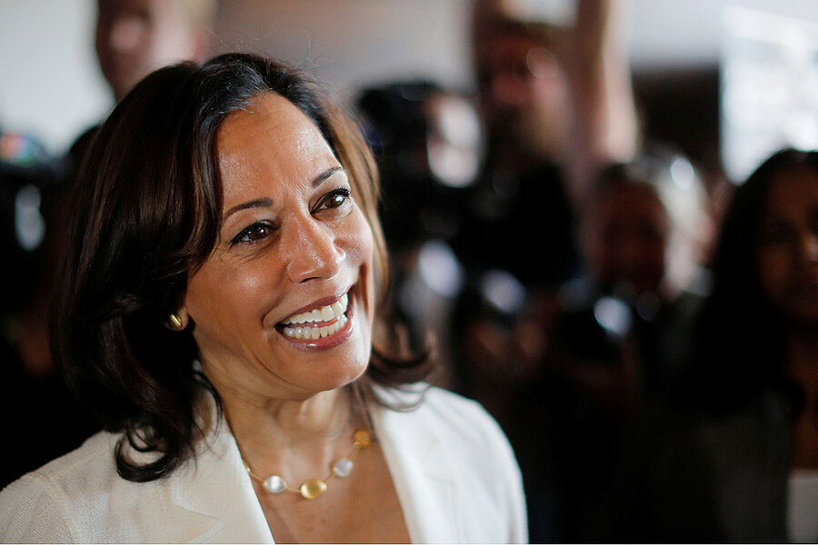 As Democratic Party veers left, can Harris occupy middle lane?