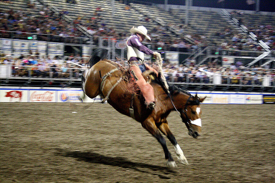 On The Rodeo Circuit Can The Orginal Extreme Sport Hang
