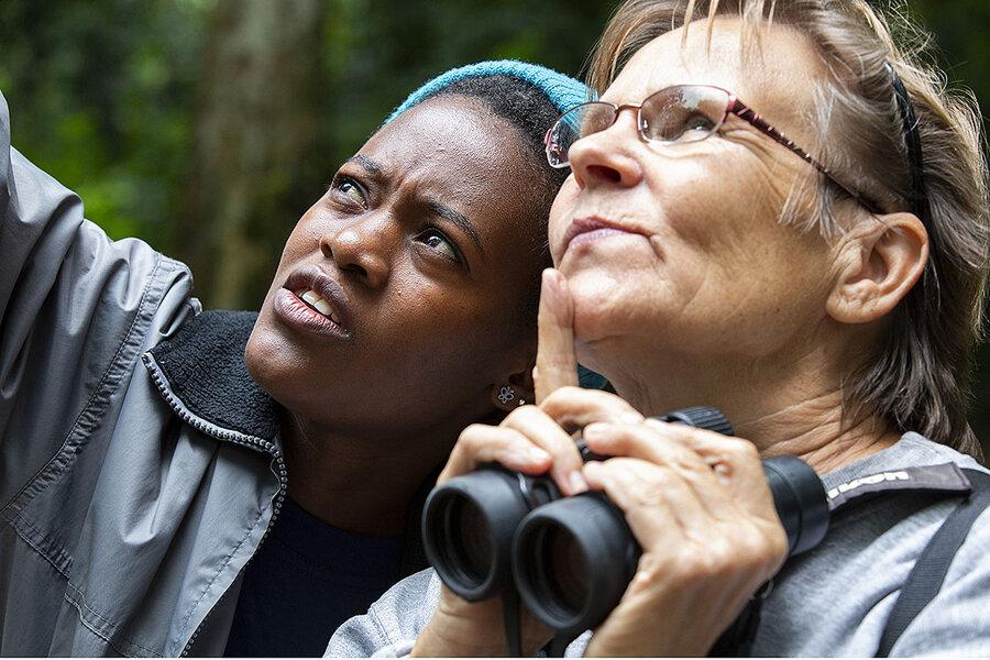 With patience and binoculars, Ugandan women build jobs as birders