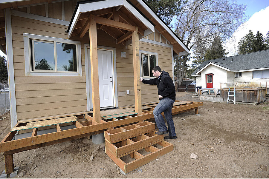 'Granny flats': More affordable housing. More parked cars, too.